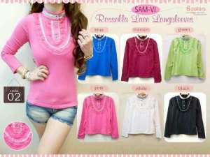 Ip9969 Rossella @58rb fit L spandex korea import
