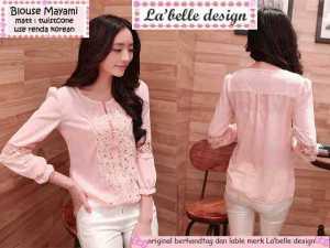 Ip9990 blouse mayami - 46rb sz L50 P60 bahan twiscone