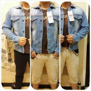 Jaket jeans levis cow @150rb size M-L-XL bahan jeans import
