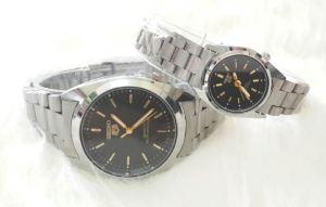 Jam tangan couple seiko silver - 180rb, kualitas kw super, tali rantai silver , free 2 box dan 2 bstre cadangan
